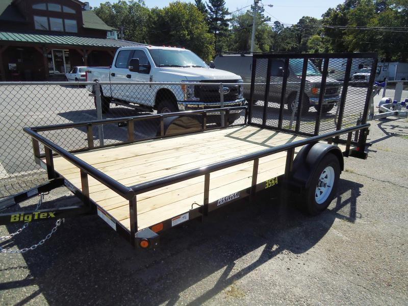 2017 Big Tex Trailers UT 7X10 35SA 10XBK4RG BLACK Utility Trailer