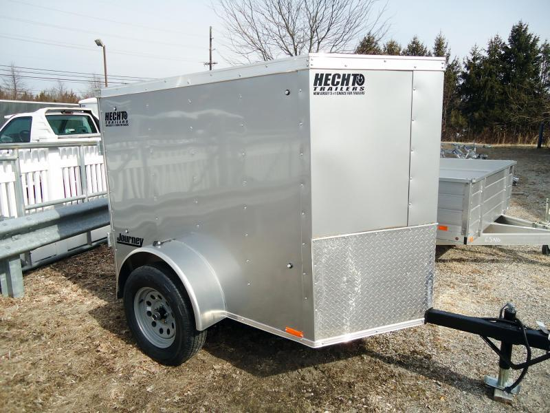 2020 Pace American 4X6 JV SI2 18W SILVER Enclosed Cargo Trailer