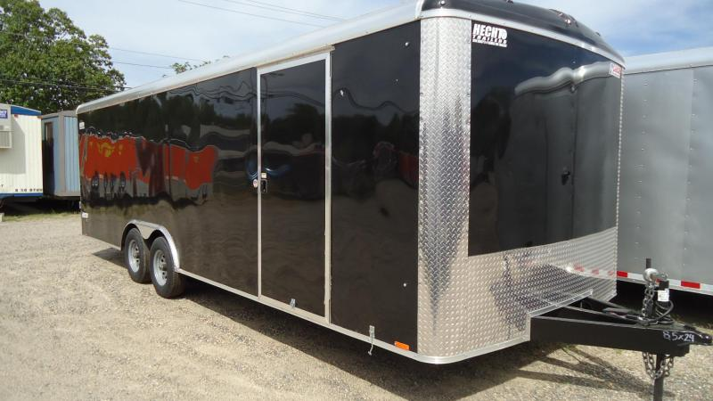 2020 Pace American 8.5X24 JT SE TE3 RAMP SCREWLESS BLACK Car / Racing Trailer