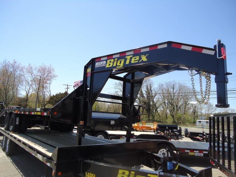 2018 Big Tex Trailers EH 8.5X25 22GN 20BK5DT 5 FURAMPS BLACK Equipment Trailer
