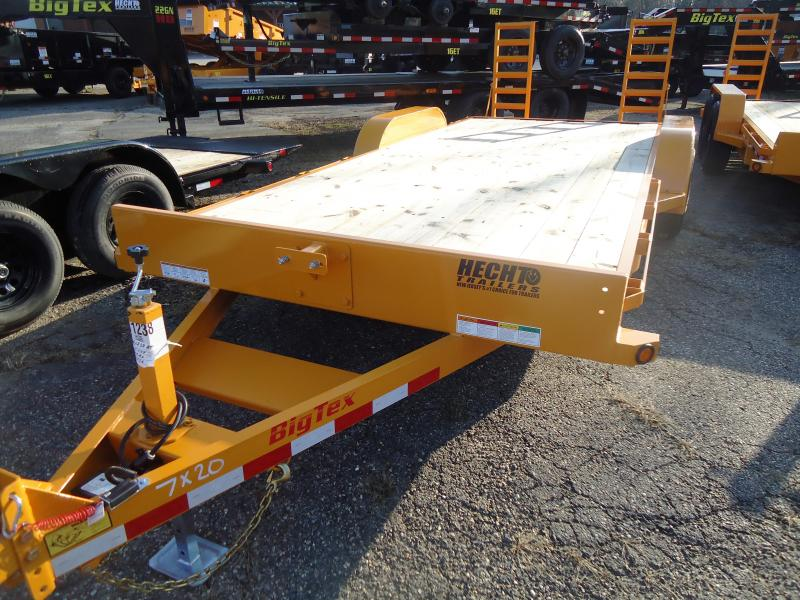 2019 Big Tex Trailers EH 7X20 10ET 20YE 5SUKR KNEE YELLOW Equipment Trailer