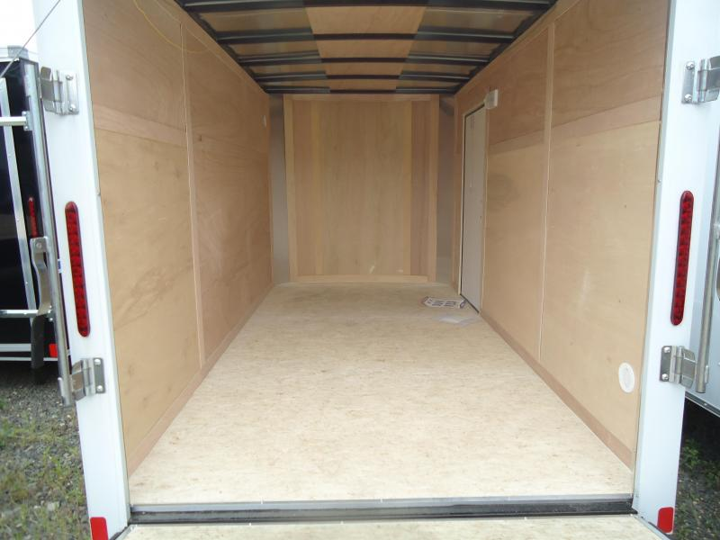 2018 Bravo Trailers 6X12 HR SA RAMP WHITE Enclosed Cargo Trailer
