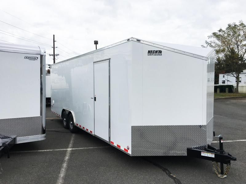 "2018 Bravo Trailers 8.5X24 SC TA3 V 6""X AUTO PKG HD RAMP WHITE Enclosed Cargo Trailer"