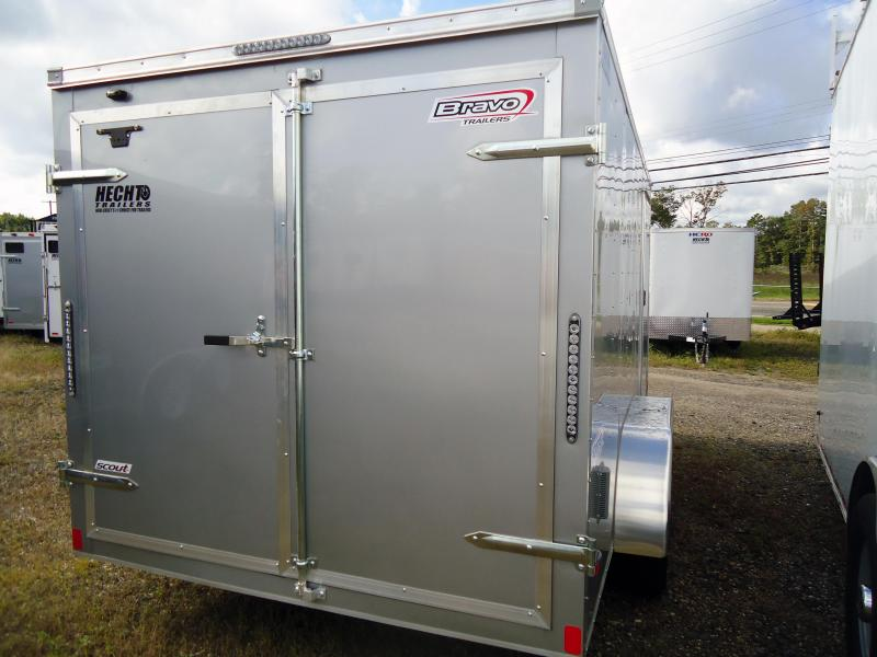 2019 Bravo Trailers 7X14 SC TA2 APP SILVER Cargo / Enclosed Trailer