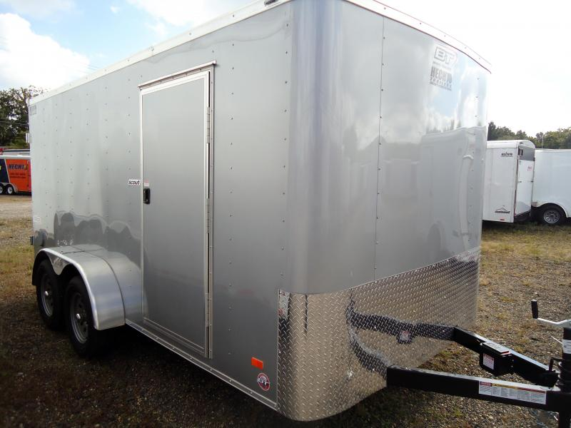 Bravo Trailers 7X14 SC TA2 APP SILVER Cargo / Enclosed Trailer