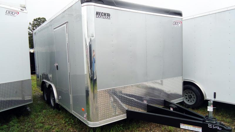"2020 Bravo Trailers 8.5X16 ST TA2 60"" TUNG SILVER Car / Racing Trailer"