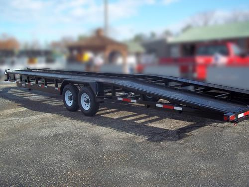 2015 Anderson CH-7X35 CH-735 SPLIT DECK Car / Racing Trailer