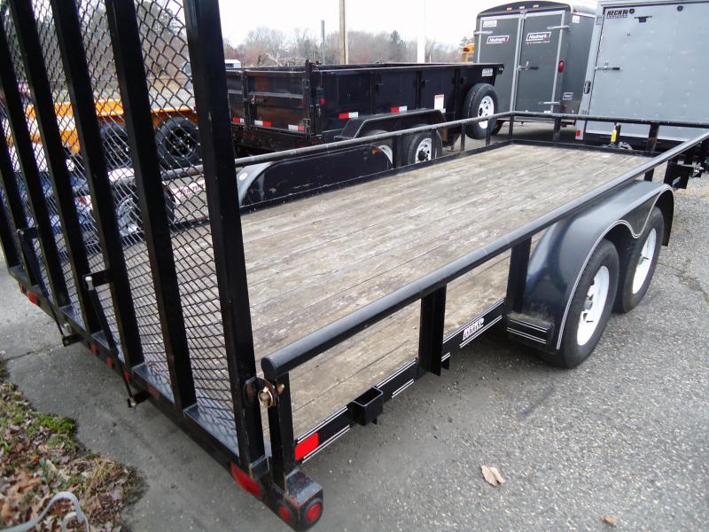 2010 USED Big Tex Trailers 70PI-18X Utility Trailer