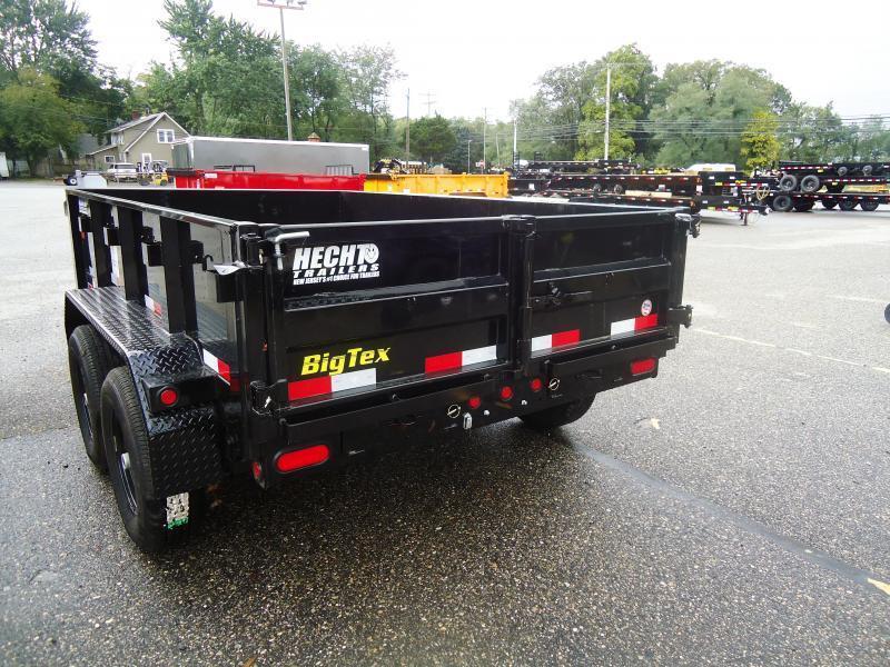 2019 Big Tex Trailers DT 6X10 90SR 10BK 7SIR BLACK Dump Trailer