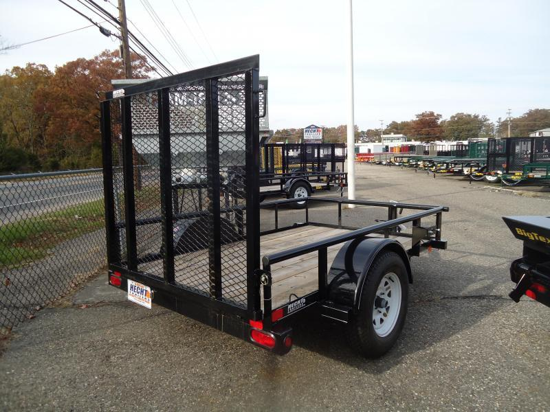 2017 Big Tex Trailers UT-5X8 30SA-08BK4RG BLACK Utility Trailer