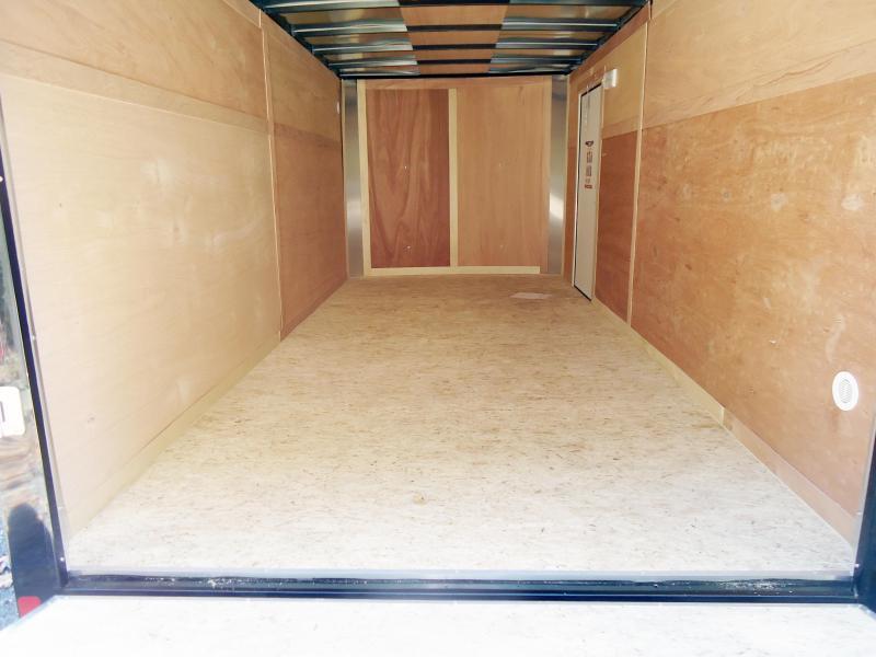2019 Bravo Trailers 7X16 HR TA2 RAMP BLACK Enclosed Cargo Trailer