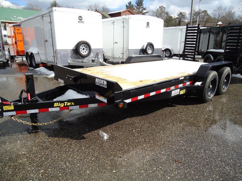 2018 Big Tex Trailers EH-7X20 16ET-17+3BK5SUKR KNEE BLACK Car / Racing Trailer