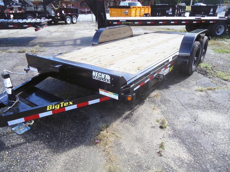 2019 Big Tex Trailers EH 7X18 10FT 18BK 2 EB BLACK Equipment Trailer