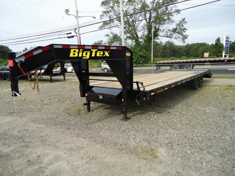 2019 Big Tex Trailers EH 8.5X30 14GN 25BK5MR MEGA BLACK Equipment Trailer