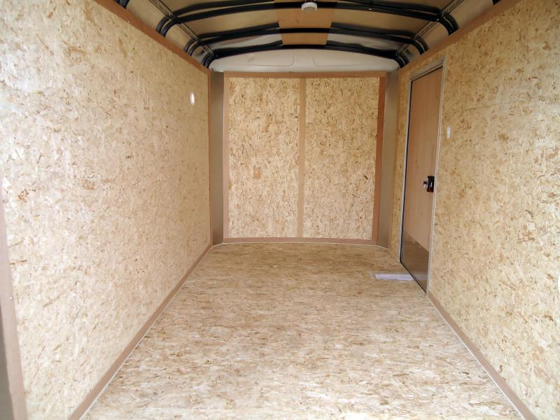 2019 Pace American 6X10 JT SI2 SVNTS WHITE Enclosed Cargo Trailer