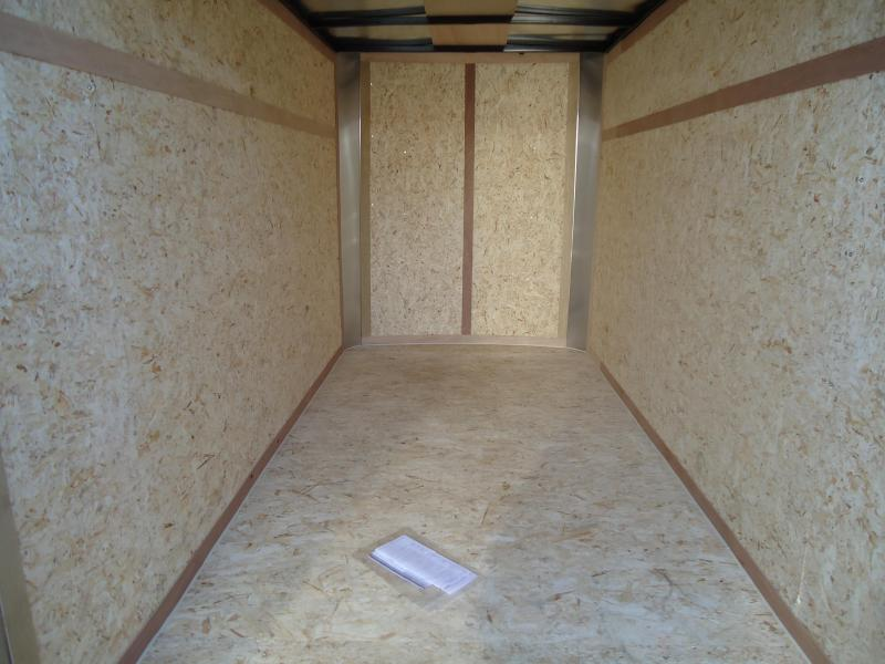 2019 Pace American 5X10 OB SI2 DD WHITE Enclosed Cargo Trailer