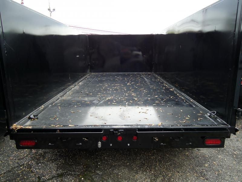 2019 Big Tex Trailers DT 7X14 14LX 14BK 7SIRPD P4 BLACK Dump Trailer