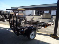 2014 Big Tex Trailers 4X6 15XT Utility Trailer