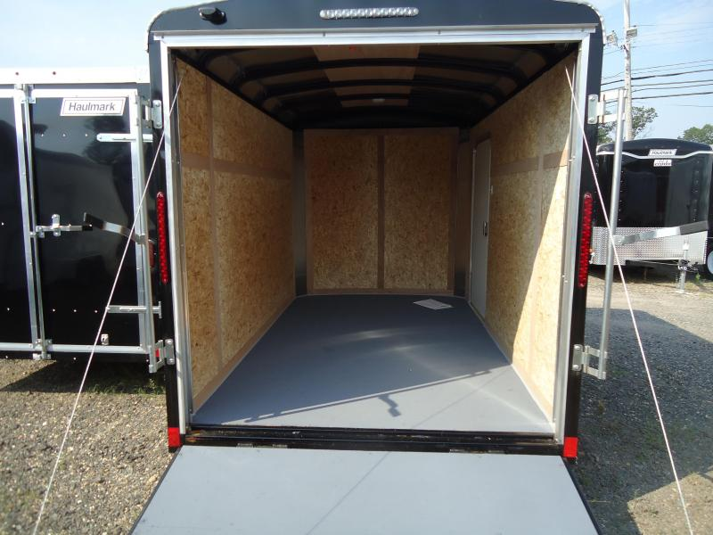 2017 Haulmark 6X10CB DS2 LD RAMP BLACK Enclosed Cargo Trailer