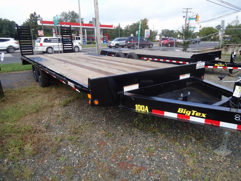 2019 Big Tex Trailers EH 8.5X24 10OA-21 BK+3 DT BLACK Equipment Trailer