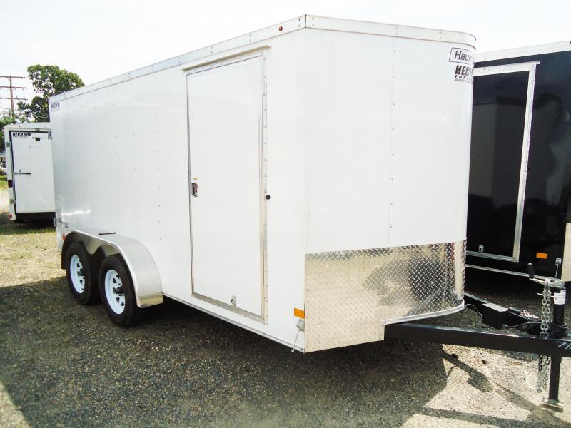 2017 Haulmark 7X14 PPT DT2 WHITE Enclosed Cargo Trailer