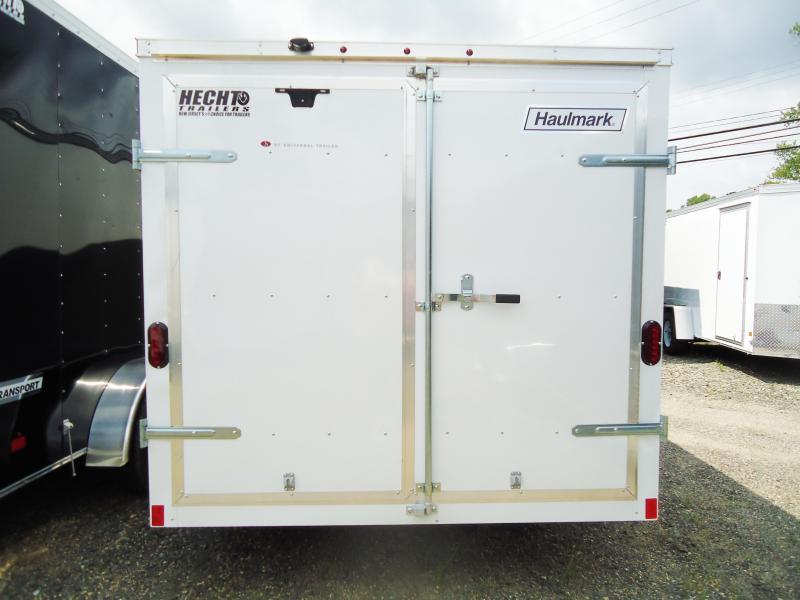 2017 Haulmark 7X14 PPT DT2 WHITE Enclosed Cargo Trailer
