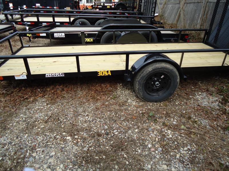 2020 Big Tex Trailers UT 5X14 30SA 14BK 4RG BLACK Utility Trailer