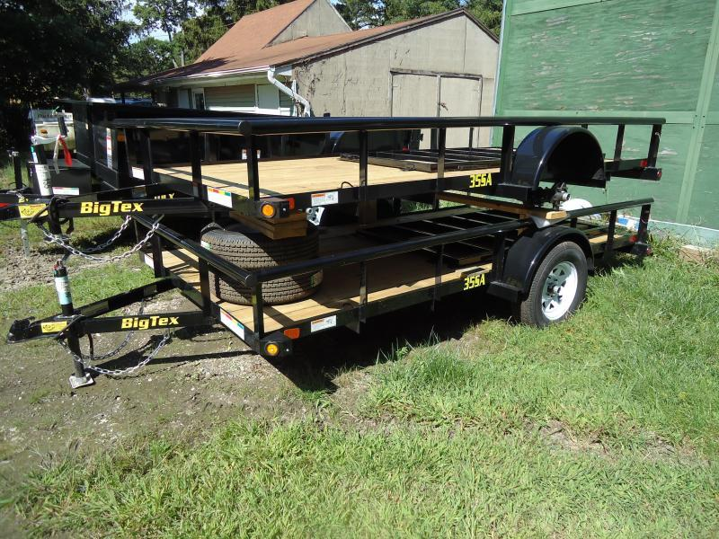 2017 Big Tex Trailers UT 6.5X12 35SA-12BK4RG BLACK Utility Trailer