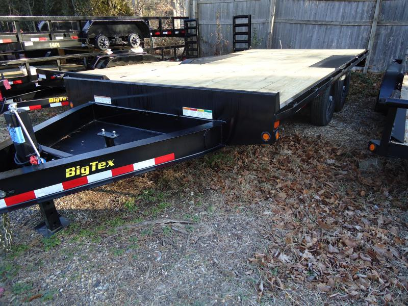 2019 Big Tex Trailers EH 8.5X16 14OA 16BK 8SIR BLACK Equipment Trailer
