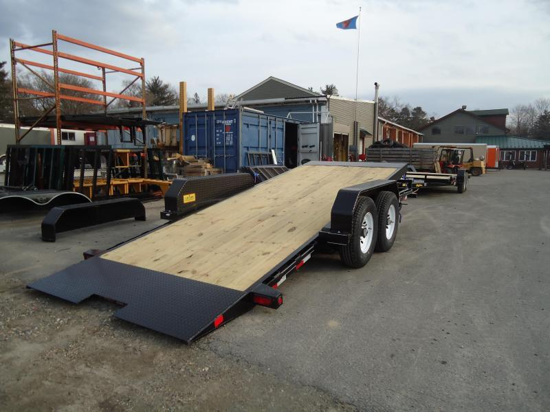 2019 Big Tex Trailers EH 7X16 14FT-16BK BLACK Equipment Trailer