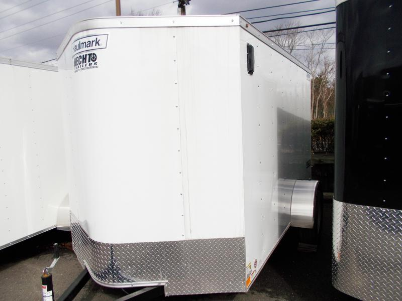 2019 Haulmark 6X12 PPT RAMP WHITE Enclosed Cargo Trailer