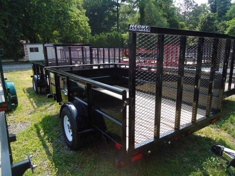 2019 Big Tex Trailers UT 6.5X12 35SV 12BK4RG BLACK Utility Trailer