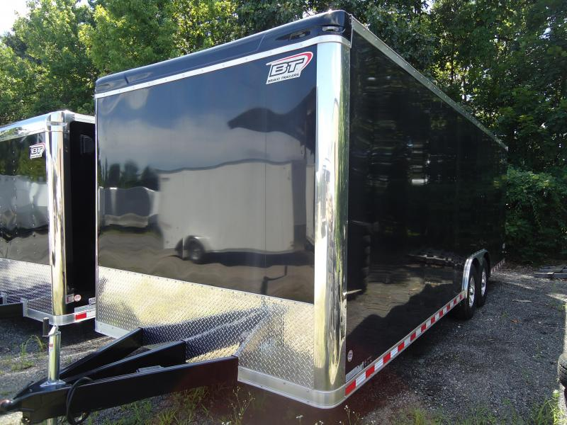"2017 Bravo Trailers 8.5X24 ST TA3 6X DRAFT PKG 16""TIRES BLACK Car / Racing Trailer"