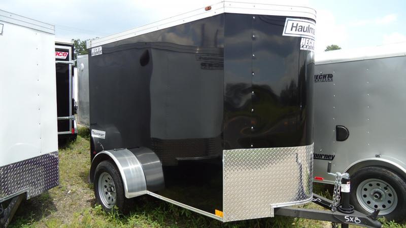 2019 Haulmark 5X8 TSTV S2 RAMP BLACK Enclosed Cargo Trailer