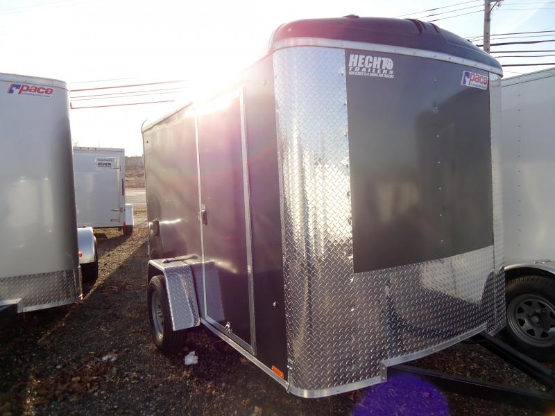 2019 Pace American 6X10 JV SI2 SE SVENTS DRING CHARCOAL Enclosed Cargo Trailer