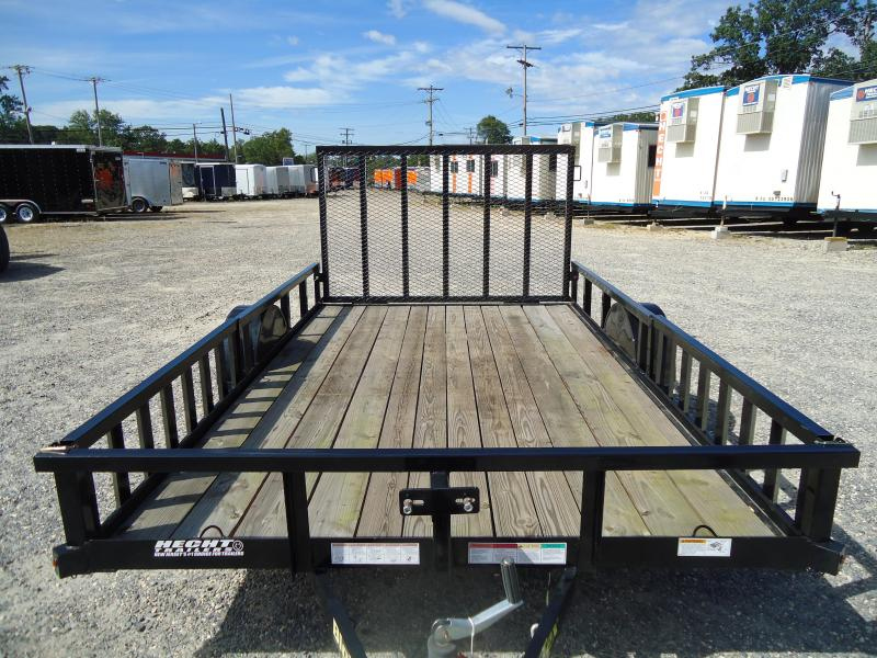 2015 Big Tex Trailers UT-7X12 35SA-12BK RSX 4RG Utility Trailer
