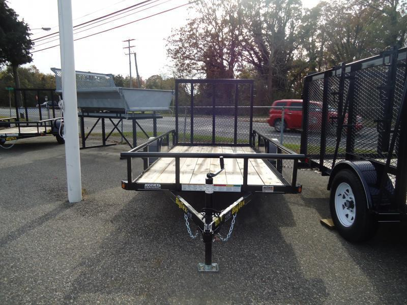2018 Big Tex Trailers UT 5X10 30SA 10BK 4RG BLACK Utility Trailer
