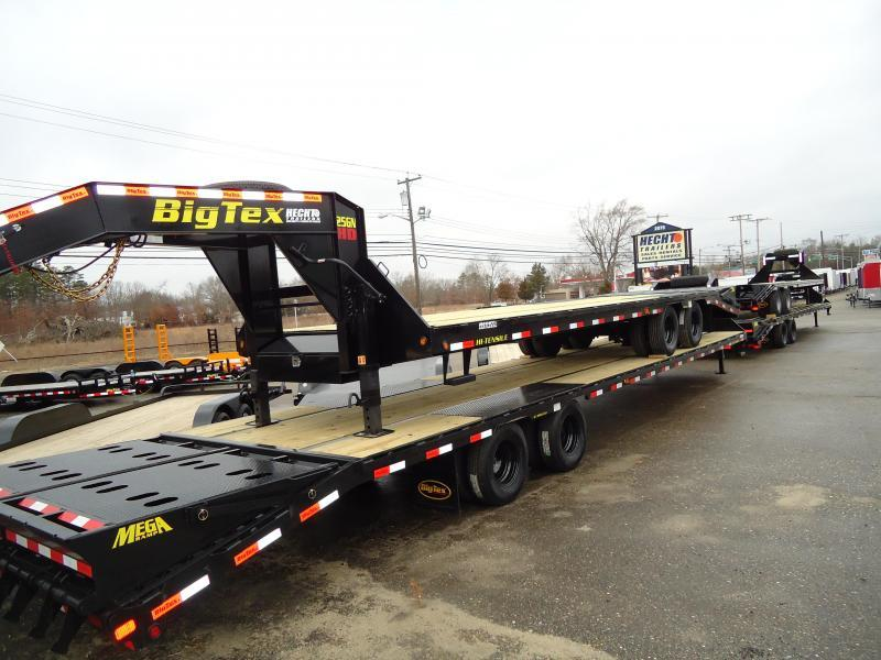 2018 Big Tex Trailers EH 8.5X33 25GN 28BK+5MR MEGA BLACK Equipment Trailer