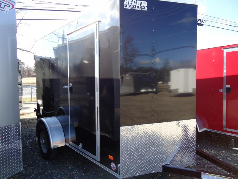 "2019 Bravo Trailers 6X10 SC SA V 6""X APP BLACK Enclosed Cargo Trailer"