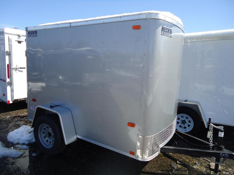 2018 Pace American 5X8 OB SI2 FD JCKS 5K DRNG SILVER Enclosed Cargo Trailer