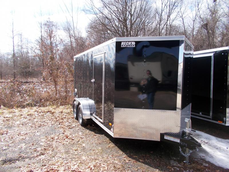 2019 Bravo Trailers 7X14 ST TA2 DD V NOSE BLACK Enclosed Cargo Trailer