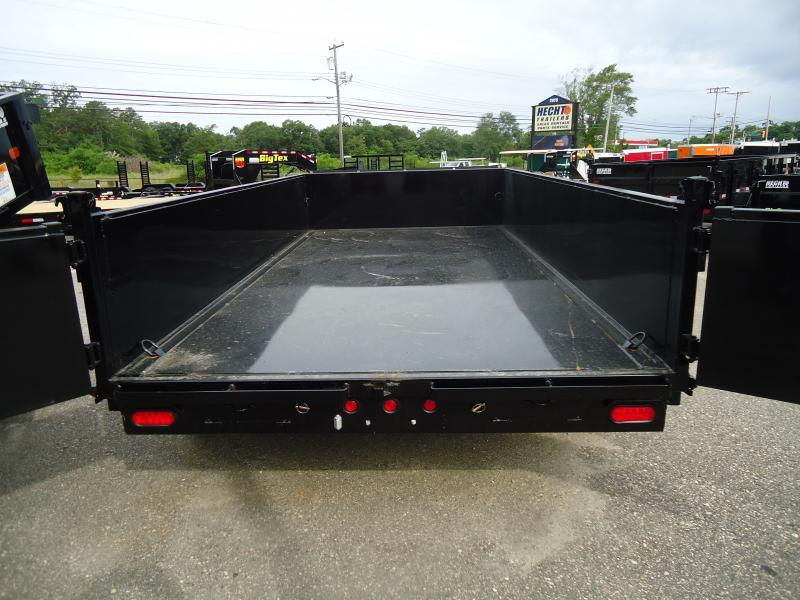 2019 Big Tex Trailers DT 7X14 14LX 14BK 7SIRPD TARP BLACK Dump Trailer