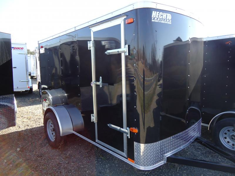 2020 Pace American 5X10 OB SI2 RAMP SIDE D BLACK Enclosed Cargo Trailer