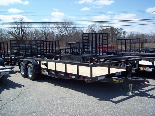 2015 Big Tex Trailers UT-7X18 10PI-18BK Utility Trailer