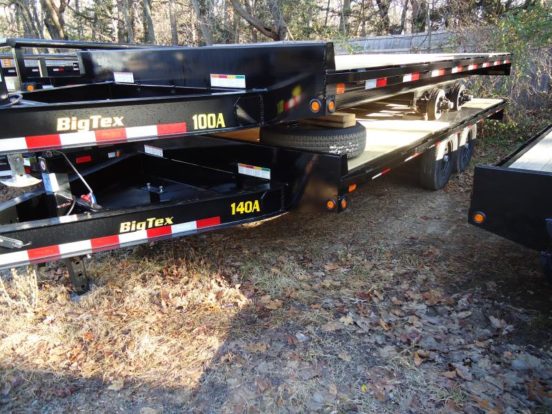 2019 Big Tex Trailers EH 8.5X18 14OA 18BK 8SIR BLACK Equipment Trailer
