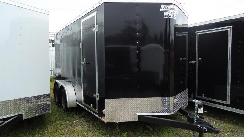 2019 Haulmark 7X14 PPT T2 BLACK Enclosed Cargo Trailer