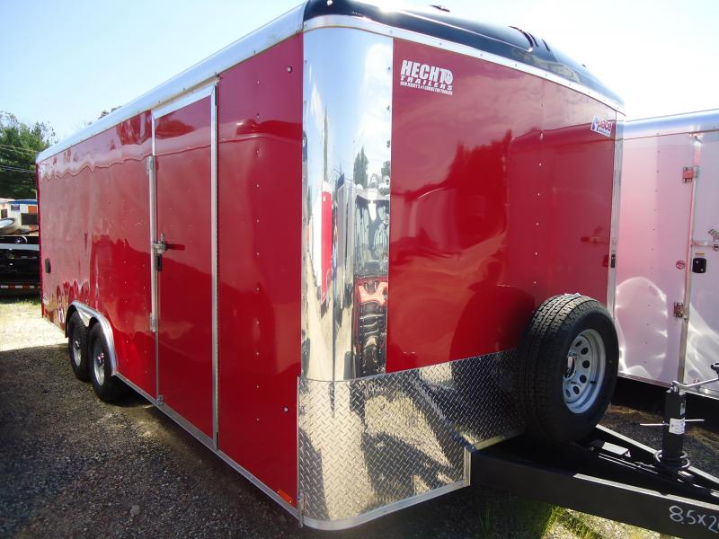 2017 Pace American 8.5X20 CLS TE3 18TUNG RAMP RED Enclosed Cargo Trailer