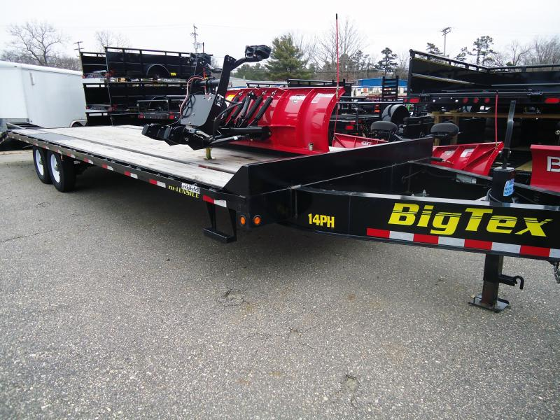 2018 USED Big Tex Trailers EH 8.5X30 14PH 25+5 2018 Equipment Trailer