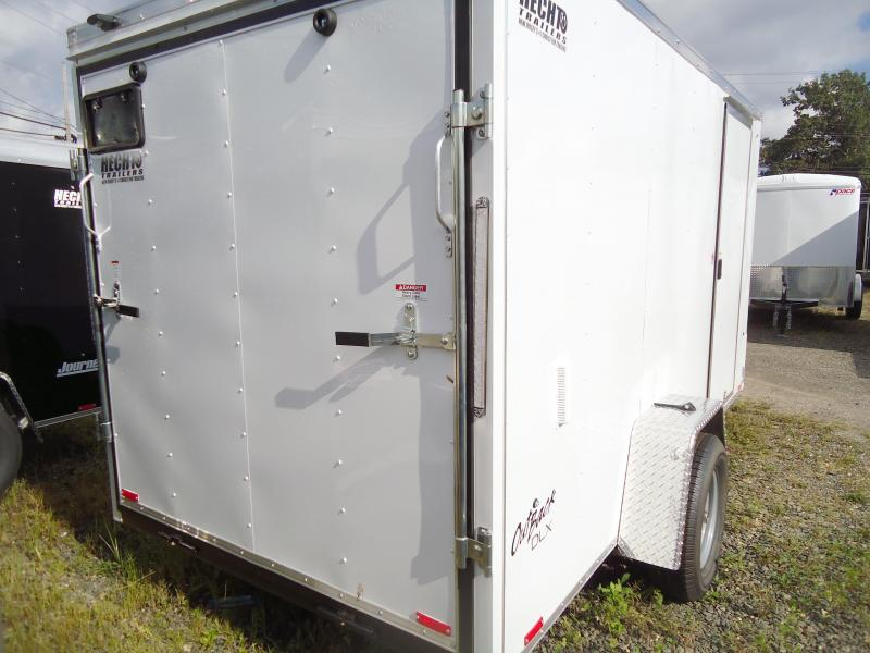 "2019 Pace American 6X12 OBDLX SI2 24""VS RAMP SV WHITE Enclosed Cargo Trailer"