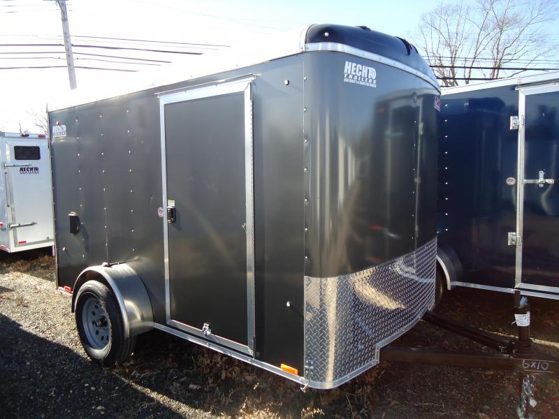 2019 Pace American 6X10 JT SI2 SVENTS CHARCOAL Car / Racing Trailer